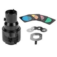 Uniwersalna nakładka Quadralite Spot Kit SN-5000