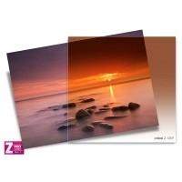 Filtr Cokin Z125F - połówkowy tabaczkowy z miękkim przejściem koloru przez cały filtr z serii Z-PRO