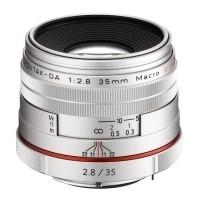 Obiektyw Pentax HD DA 35mm f/2,8 Macro Limited Srebrny