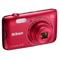 Aparat cyfrowy Nikon Coolpix A300 czerwony
