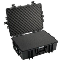 Walizka transportowa B&W outdoor.cases Typ 6500 SI z gąbką Czarna