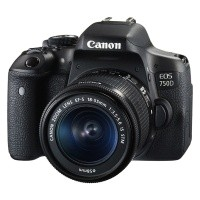 Canon EOS 750D + obiektyw 18-55mm IS STM
