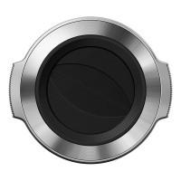 Automatyczna pokrywka do obiektywu 14-42mm EZ - Olympus LC-37C srebrna