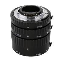 Pierścienie pośrednie Meike 12mm 20mm 36mm do Nikon