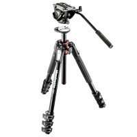 Statyw video Manfrotto MT190XPRO4 z głowicą MVH500AH