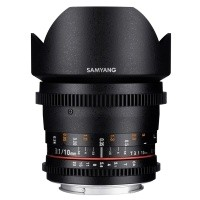 Obiektyw Samyang 10mm T3,1 VDSLR ED AS NCS CS II Canon