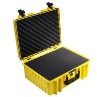 Walizka transportowa B&W outdoor.cases Typ 6000 SI z gąbką Żółta