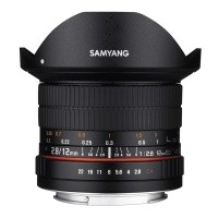 Obiektyw Samyang 12mm F2,8 AS NCS Fish-eye Fuji X