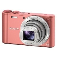 Aparat cyfrowy Sony Cyber-Shot DSC-WX350 Różowy