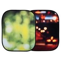Tło składane Lastolite Out of Focus Summer Foliage/ City Lights  LL LB5730