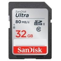 Karta pamięci SanDisk SDHC 32GB Ultra (80 MB/s)