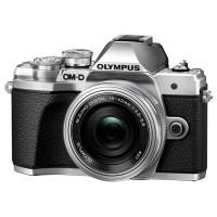 Olympus OM-D E-M10 Mark III srebrny + obiektyw 14-42mm EZ