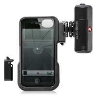 Pokrowiec Manfrotto Klyp dla iPhone 4/4s + lampa LED ML120