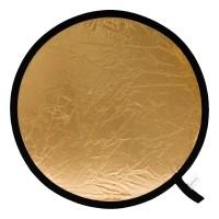 Blenda okrągła Lastolite srebrno-złota 75cm LL LR3034