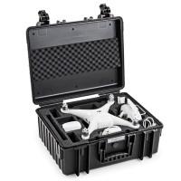 Walizka transportowa B&W T6000 do drona DJI Phantom 4 / 4 Adv / 4 Adv Plus / 4 Pro / 4 Pro Plus czarna