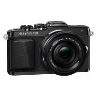 Olympus E-PL7 czarny + obiektyw 14-42mm f/3.5-5.6 EZ