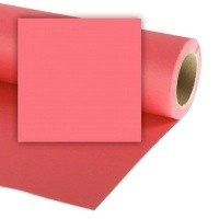 Colorama CO146 Coral Pink - tło fotograficzne 2,7m x 11m