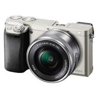 Sony Alpha a6000 (ILCE-6000LS) srebrny + obiektyw 16-50mm