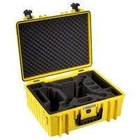Walizka transportowa B&W T6000 do drona DJI Phantom 3 żółta