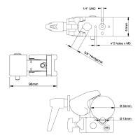 Klamra Manfrotto Super Clamp ML035 - WYSYŁKA W 24H