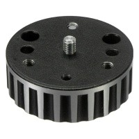 Adapter Manfrotto 120 z gwintu 3/8 cala na 1/4 cala
