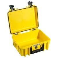Walizka transportowa B&W outdoor.cases Typ 3000 żółta bez wypełnienia