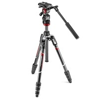 Statyw video Manfrotto Befree Live Twist Carbon MVKBFRTC-LIVE