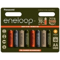 Akumulatorki Panasonic ENELOOP EXPEDITION R03/AAA 750mAh - 8szt