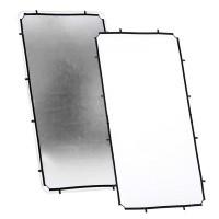 Ekran Silver/ White do systemu Lastolite Skylite 1,1m x 2m LR81231R