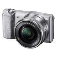 Sony Alpha a5000 (ILCE-5000LS) srebrny + obiektyw 16-50mm + karta SanDisk SDHC 16GB Ultra gratis