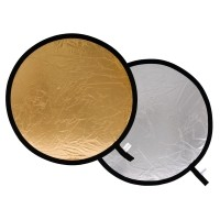 Blenda okrągła Lastolite srebrno-złota 50cm LL LR2034