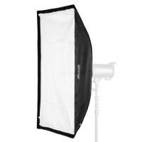 Softbox prostokątny biały Quantuum Fomex 60x180 cm