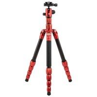 Statyw fotograficzny MeFoto BackPacker S Czerwony