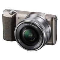 Sony Alpha a5100 (ILCE-5100LT) brązowy + obiektyw 16-50mm