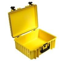 Walizka transportowa B&W outdoor.cases Typ 6000 bez wypełnienia Żółta