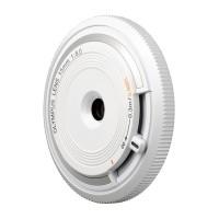 Obiektyw Olympus Body Cap Lens 15 mm f/8.0 biały (BCL-1580)