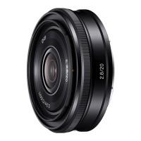 Obiektyw Sony E 20mm f/2,8 (SEL20F28)