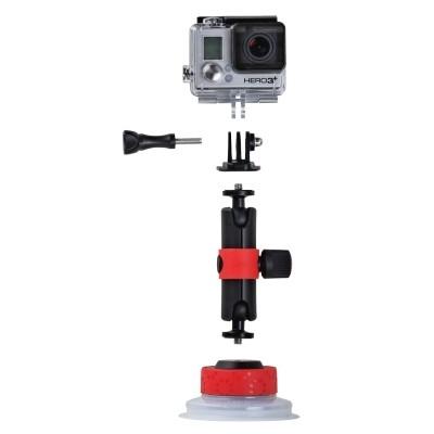 Uchwyt Joby Suction Cup + Locking Arm - WYSYŁKA W 24H, JOBY, JB01330, 0817024013301, Mocowania do kamer sportowych
