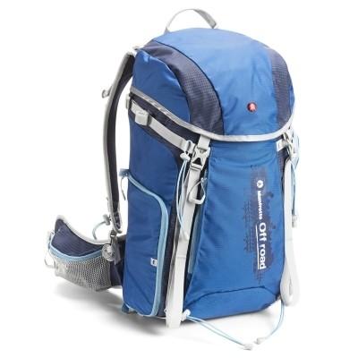 Plecak Manfrotto Off road Hiker 30L niebieski - WYSYŁKA W 24H, Manfrotto, MB OR-BP-30BU, 7290105218711, Plecaki klasyczne