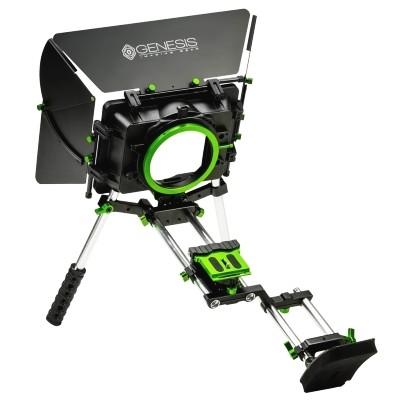 Zestaw naramienny Genesis Cine VSS wraz z matte-boxem, Genesis Gear, , , Stabilizatory, statywy naramienne, rigi