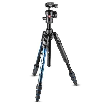 Statyw fotograficzny Manfrotto Befree Advanced Twist niebieski MKBFRTA4BL-BH - WYSYŁKA W 24H, Manfrotto, MKBFRTA4BL-BH, 8024221668292, Statywy fotograficzne