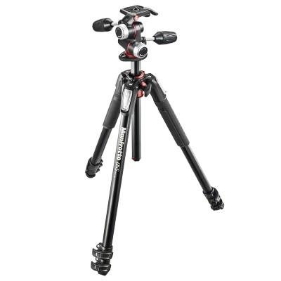 Statyw fotograficzny Manfrotto MK055XPRO3-3W z głowicą MHXPRO-3W - WYSYŁKA W 24H, Manfrotto, MK055XPRO3-3W, 8024221623291, Statywy fotograficzne