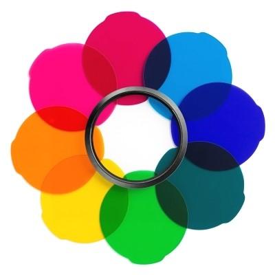 Zestaw filtrów Manfrotto Lumimuse Multicolour MLFILTERCOL