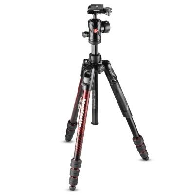 Statyw fotograficzny Manfrotto Befree Advanced Twist czerwony MKBFRTA4RD-BH - WYSYŁKA W 24H, Manfrotto, MKBFRTA4RD-BH, 8024221668285, Statywy fotograficzne