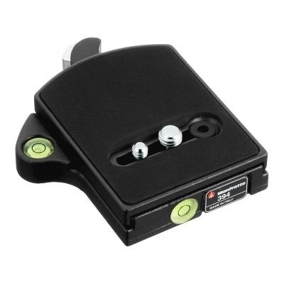 Adapter z poziomicami do płytek 410PL - Manfrotto 394 - WYSYŁKA W 24H, Manfrotto, 394, 8024221352733, Adaptery i płytki