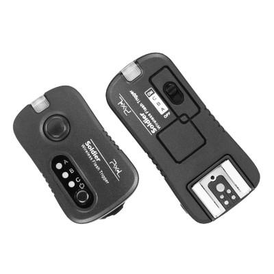 Radiowy system wyzwalania lamp lub aparatu Pixel Soldier TF-372 dla aparatów Nikon, Pixel, , 4895152303071, Wyzwalanie błysku